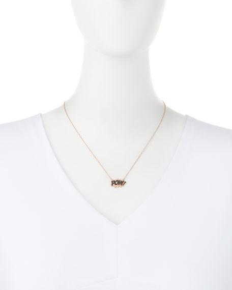 18K Rose-Gold Pow! Pop Art Pendant Necklace