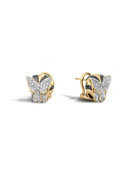 John Hardy Classic Chain Macan Stud Earrings