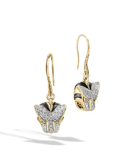 John Hardy Classic Chain Macan Drop Earrings