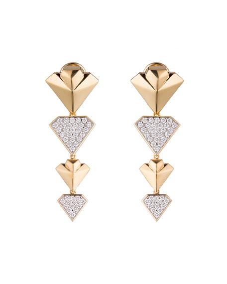 #She'sBrilliant Diamond Statement Earrings