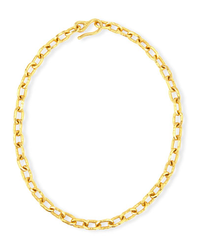 Cadene 20 22K Yellow Gold Chain Necklace, 16