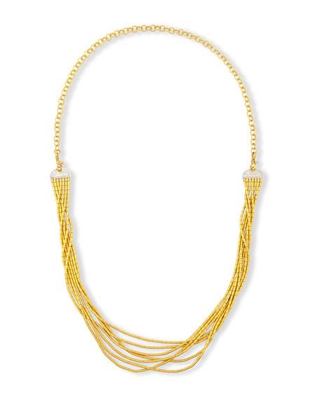 Gurhan Vertigo Pave 24K Seven-Row Necklace