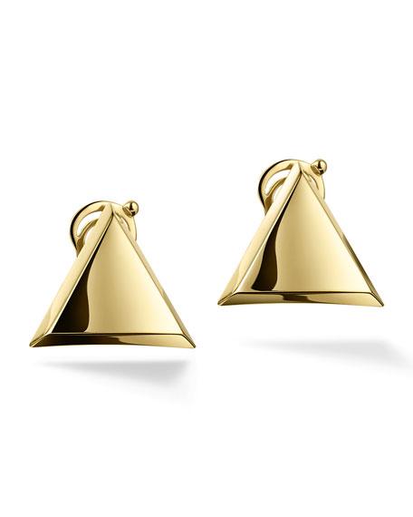 Triangoli 18K Stud Earrings
