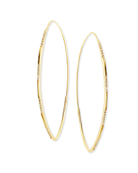 LANA 14K Large Expose Magic Hoop Earrings with