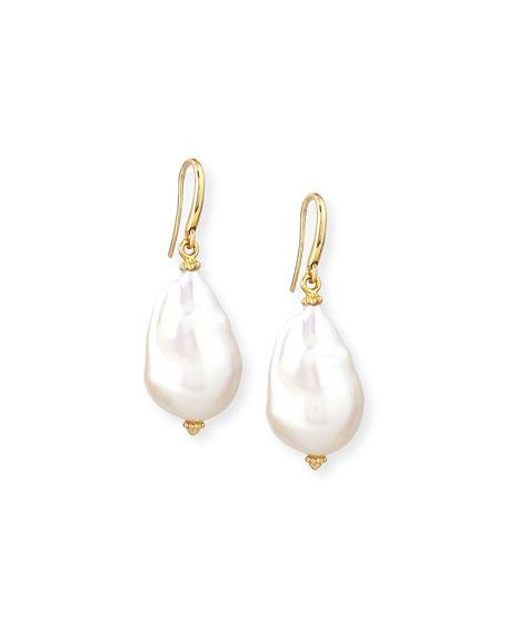 New Essentials Baroque Pearl Drop Earrings