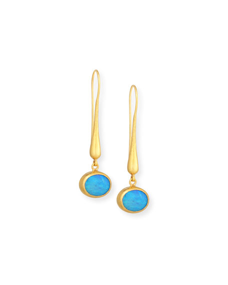 Gurhan Amulet Hue Opal Drop Earrings