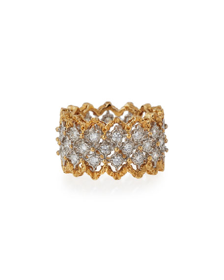 Buccellati Assorted Rombi Rings