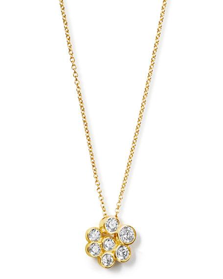 18K Glamazon Stardust Mini Pendant Necklace with Diamonds