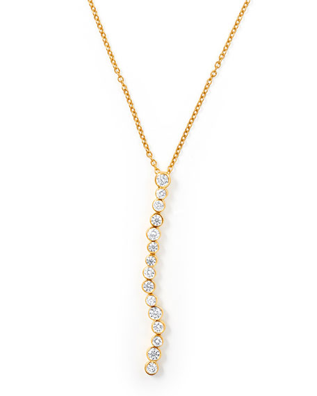 Ippolita 18K Glamazon Stardust Flexible Linear Pendant Necklace
