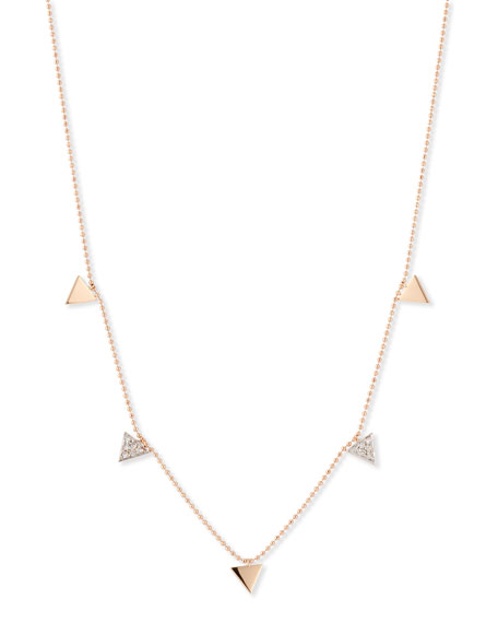 Kismet by Milka Geometry 14K Rose Gold &