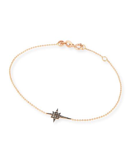 Kismet Star 14K Rose Gold & Champagne Diamond Bracelet