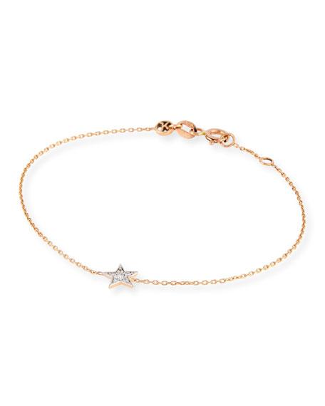 Kismet by Milka 14K Rose Gold & Diamond Star Bracelet
