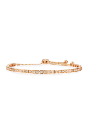 Cassidy Diamonds 18K Rose Gold Square Diamond Bracelet