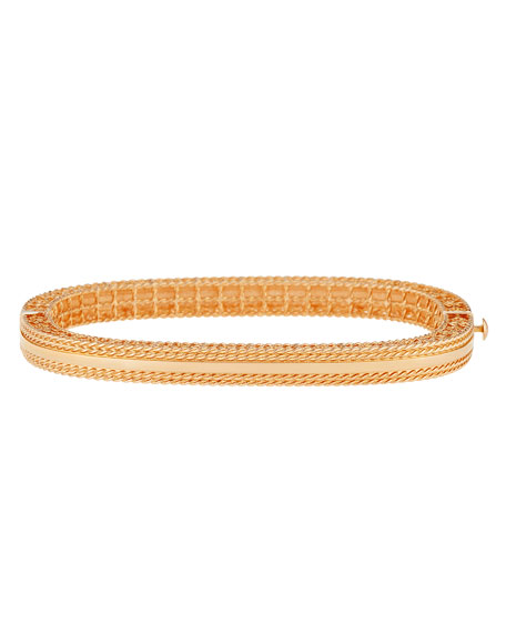 Princess Slim 18k Rose Gold Bangle