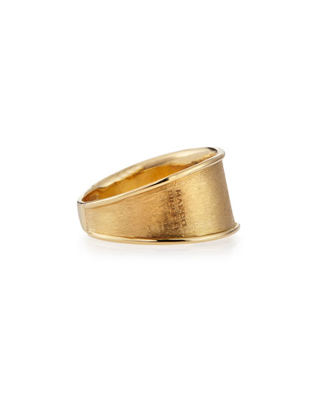 Lunaria 18k Gold Band Ring