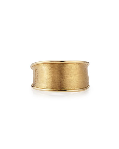 Lunaria 18k Gold Band Ring