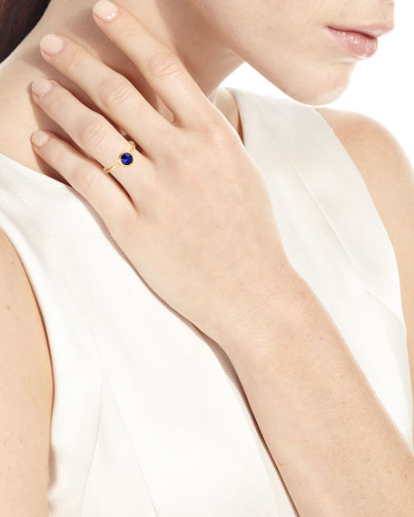 Jaipur Lapis Stackable Ring