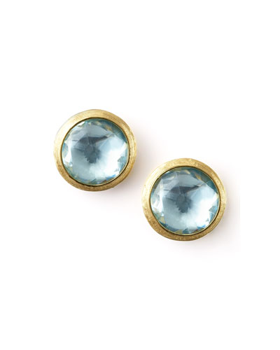 Jaipur Topaz Stud Earrings