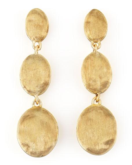 Siviglia 18K Gold Drop Post Earrings