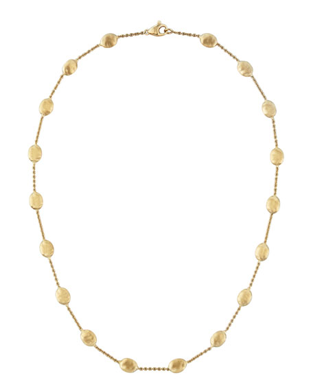 "Siviglia 18K Gold Single-Strand Necklace, 16""L"