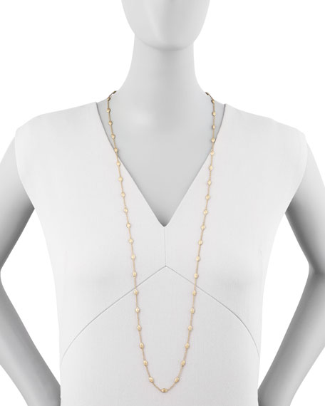 "Siviglia 18k Gold Single-Strand Necklace, 39 1/4""L"