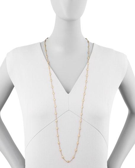 """Siviglia 18k Gold Single-Strand Necklace, 39 1/4""""L"""