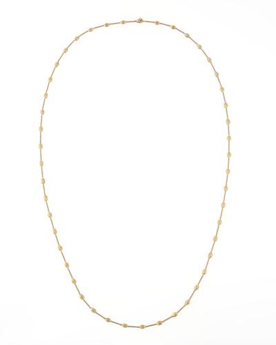 Siviglia 18k Gold Single-Strand Necklace, 39 1/4