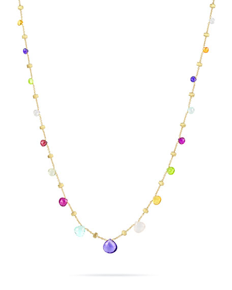 "Paradise Graduated Short Necklace, 16.5""L"