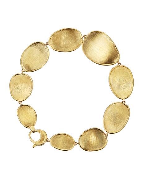 """Lunaria 18k Gold Bracelet, 7""""L"""