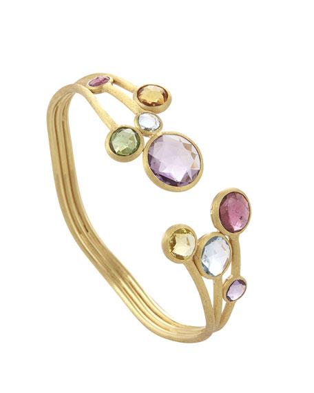 Jaipur 18K Multi-Stone Cuff Bracelet
