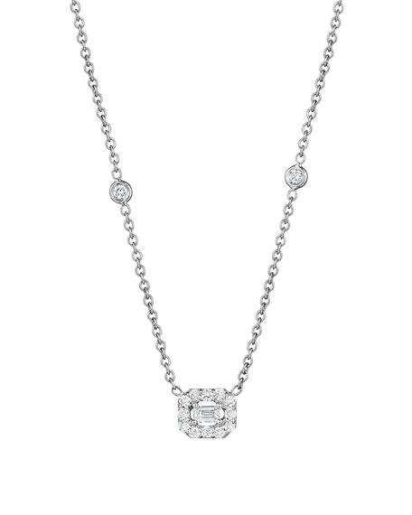 Penny preville emerald cut diamond pendant necklace neiman marcus emerald cut diamond pendant necklace aloadofball Choice Image