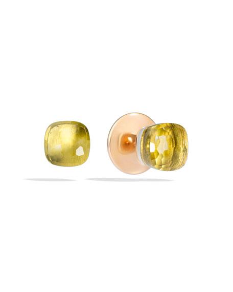 Nudo Lemon Quartz Stud Earrings