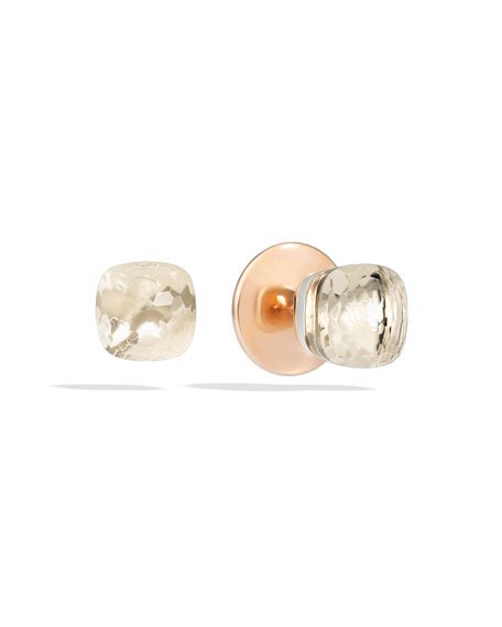 collections rose quartz sale earrings cipria grande pomellato products