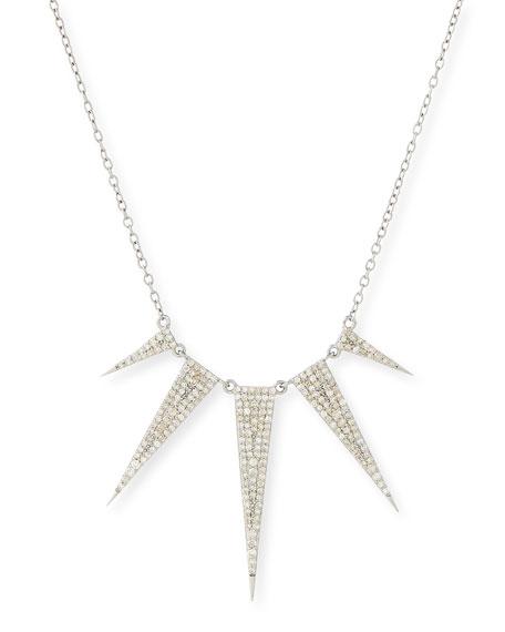 Diamond Spike Necklace