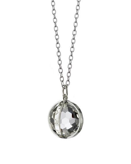 Monica Rich Kosann Small Silver Carpe Diem Pendant