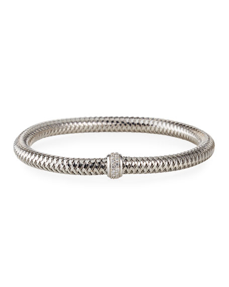Diamond Primavera Bracelet, White Gold