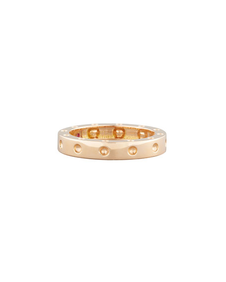 Roberto Coin 18k Pois Moi Ring, Rose Gold,