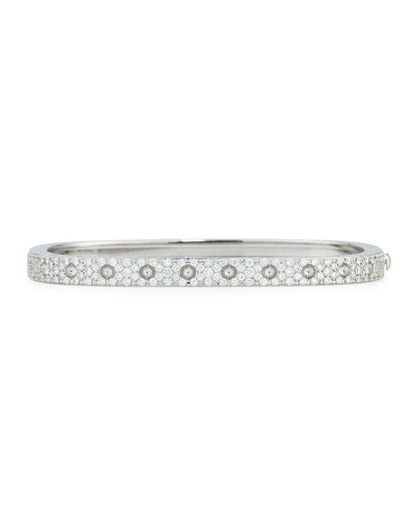 Roberto Coin 18k White Gold Pois Moi One-Row