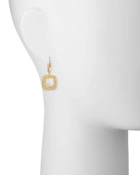 Pois Moi 18k Mother-of-Pearl Dangle Earrings