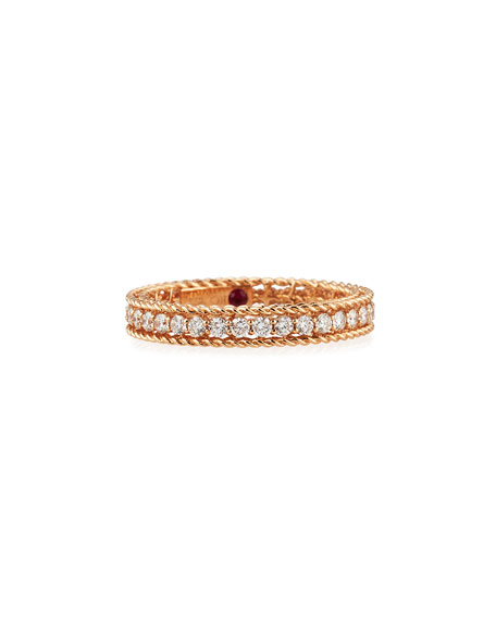 Roberto Coin Symphony Collection 18K Princess Diamond Band