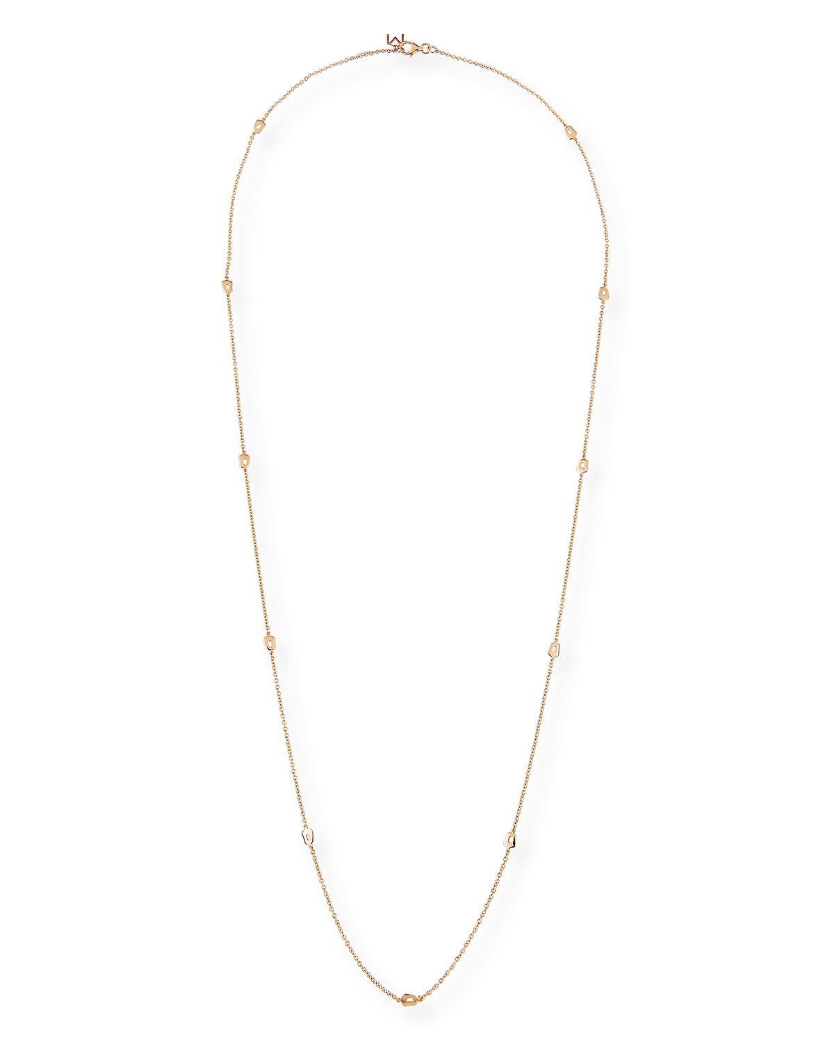Mattioli Puzzle Six-Strand Mother-of-Pearl Necklace in 18K Rose Gold VJeWc55gi