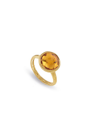 Marco Bicego Jaipur 18K Faceted Round Ring, Size 7