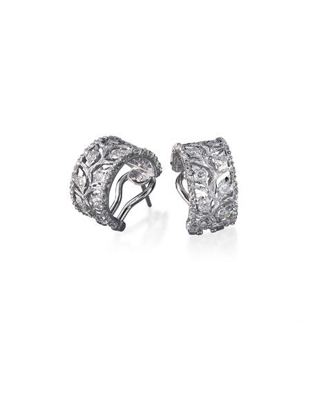 Ramage Diamond Hoop Earrings