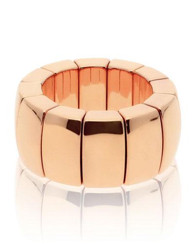 AURA 18k Rose Gold Stretch Ring