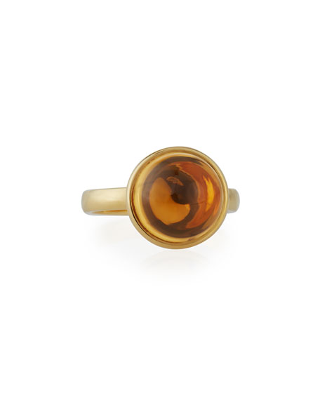 Baubles Citrine Ring in 18K Gold, Size 6.5
