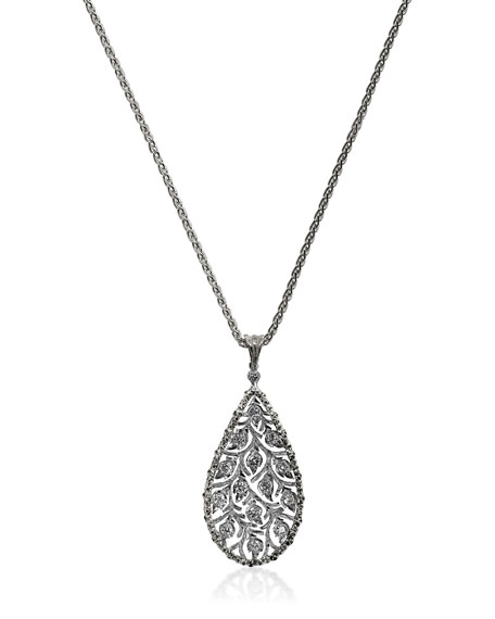Ramage Diamond Charm Pendant Necklace