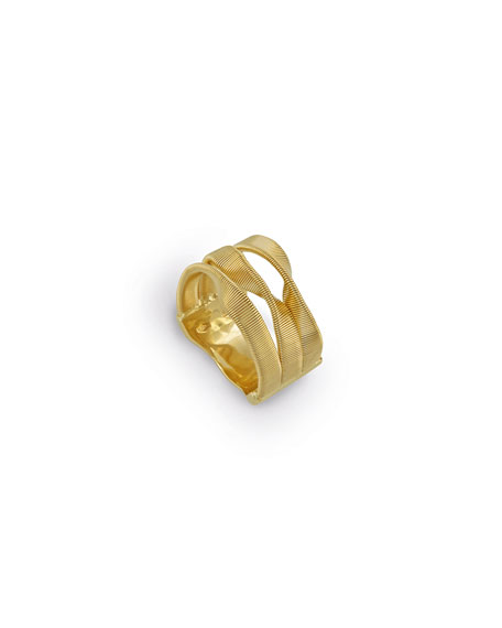 Marco Bicego Marrakech Three-Row Crossover Ring