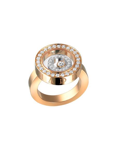 Happy Spirit Pavé Diamond Ring, Size 53