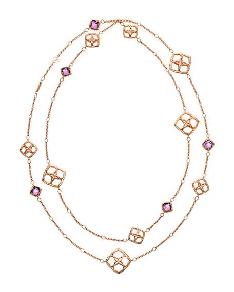 Imperiale Amethyst Sautoir Necklace