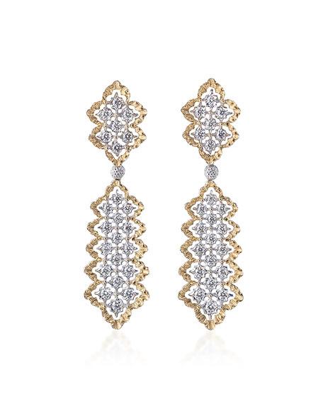 Rombi Diamond Drop Earrings